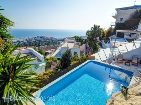 sitges houses with pool